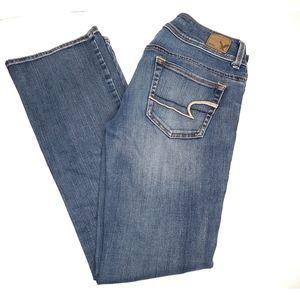 American Eagle Kick Boot Leg Jeans